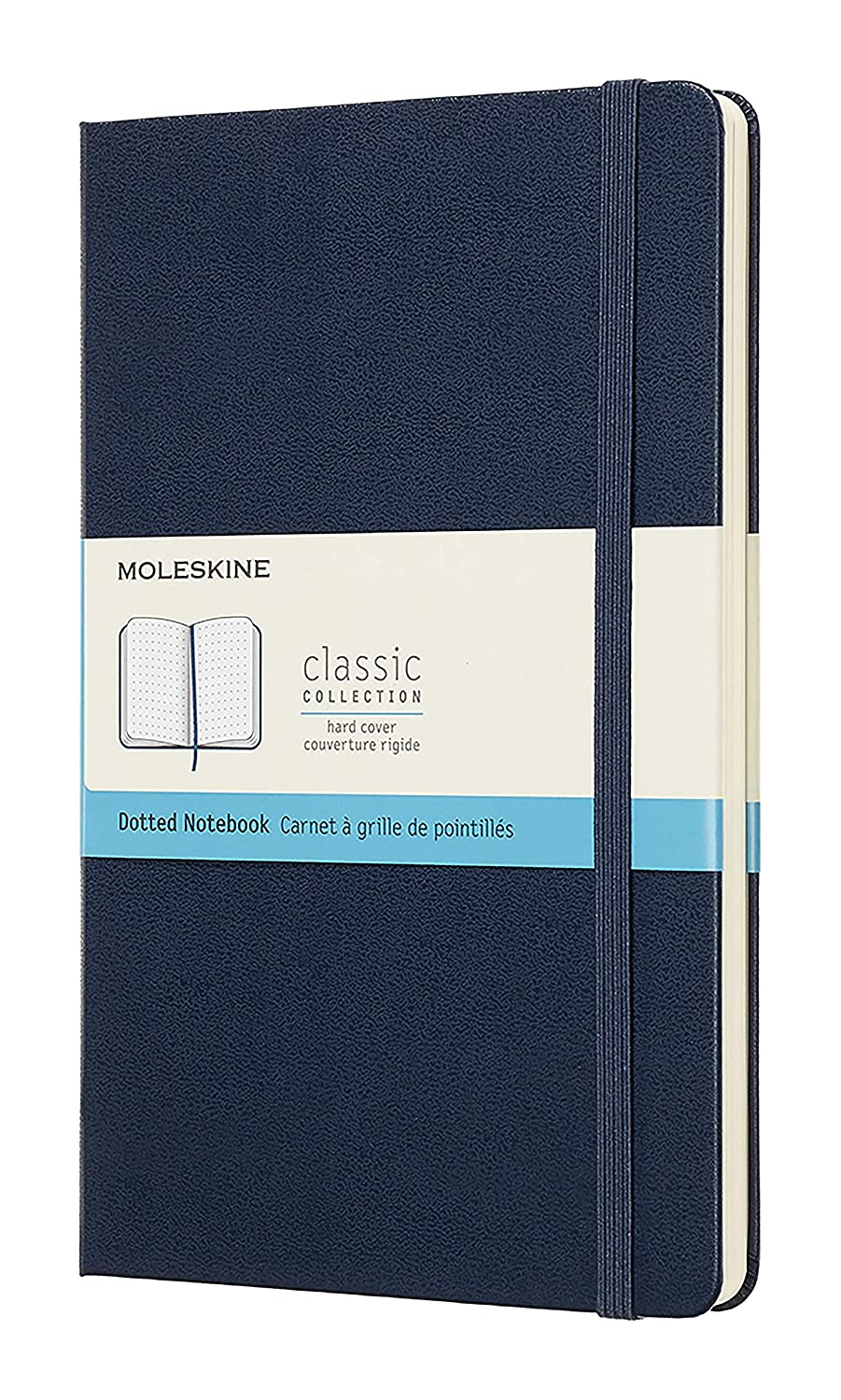 Moleskine Classic Notebook, Hard Cover, Large, Dotted