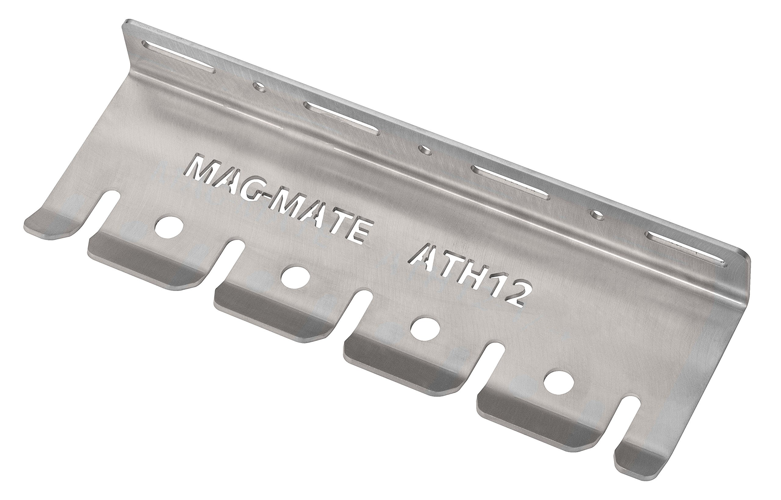 MAG-MATE ATH12-3/8 Air Tool Holder Rack for 3/8'' Nipples, 12 x 4 x 1.5''