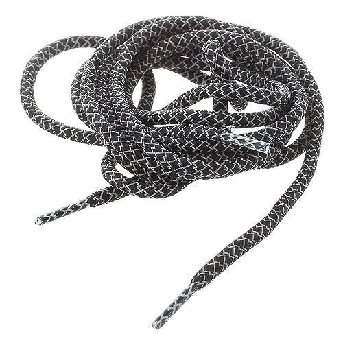 Amazon Shoe Laces Round Black