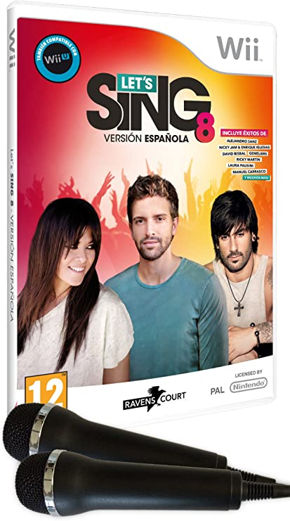 Lets Sing 8 - Versión Española, Con 2 Micrófonos: Amazon.es: Videojuegos