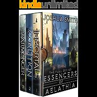 Essencers of Aelathia: The Complete Series Box Set: (An Epic Fantasy Saga)