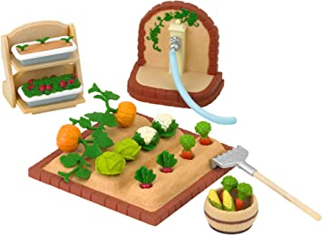 SYLVANIAN FAMILIES 3564 - Kit de jardín en Miniatura: Amazon.es: Juguetes y juegos