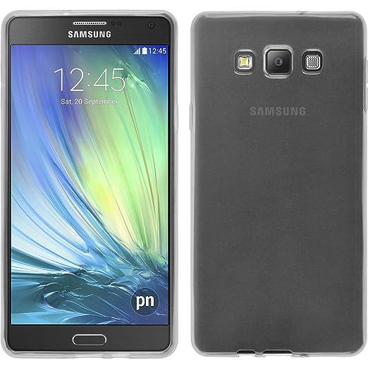 26 opinioni per PhoneNatic Custodia Samsung Galaxy A7 (A700) Cover bianco trasparente Galaxy A7