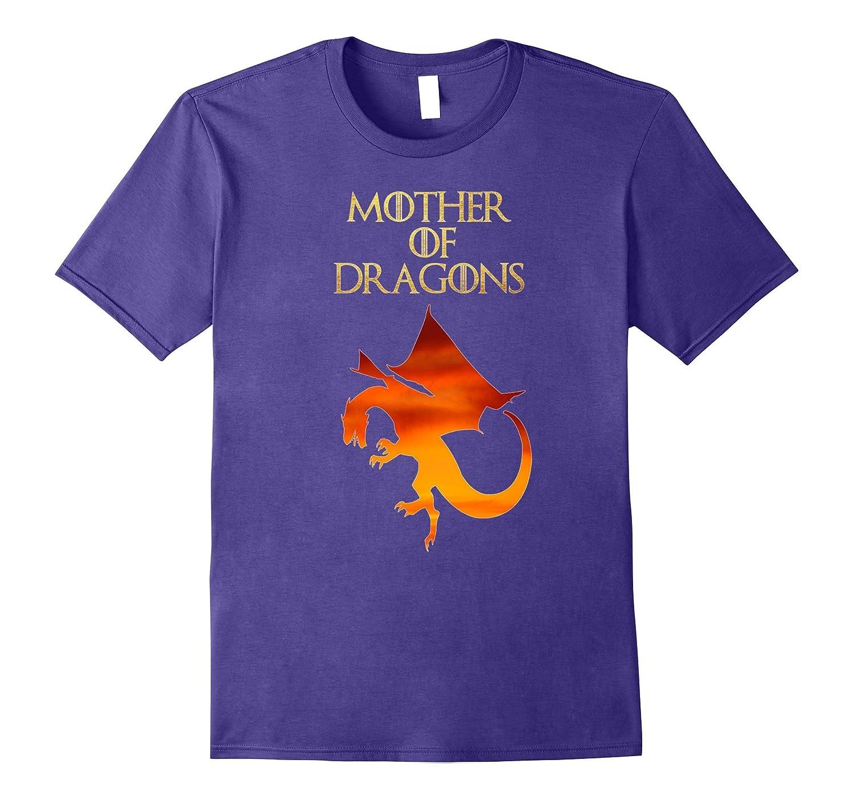 Women's Girls Mother of Dragons Fire T-Shirt-RT