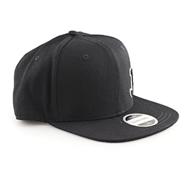Snapback Logo Cap In Black - Black Jack & Jones McEC1N