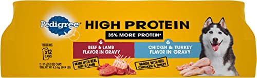Pedigree High Protein Adult Dry Wet Canned Dog Food
