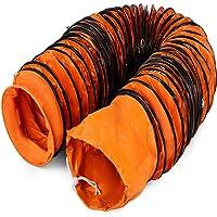 Mophorn Conducto Flexible de PVC Ventilador 7,6 m