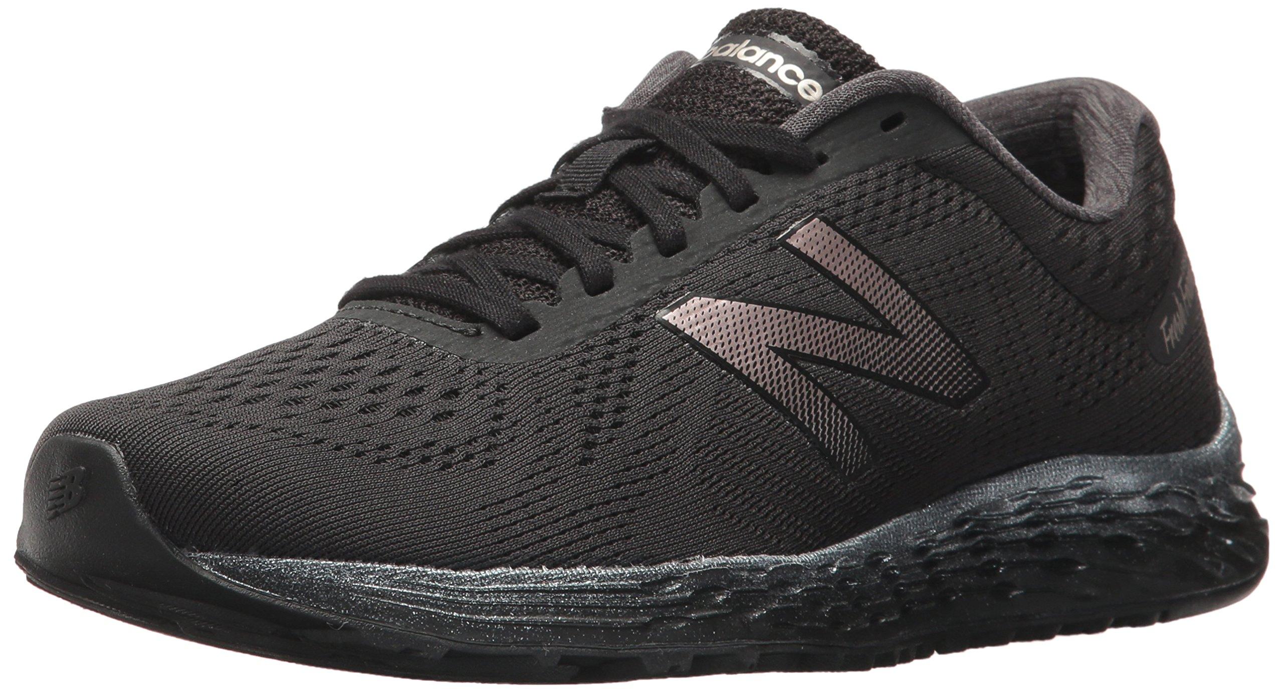 New Balance Women's Arishi v1 Fresh Foam Running Shoe, Black, 6.5 B US