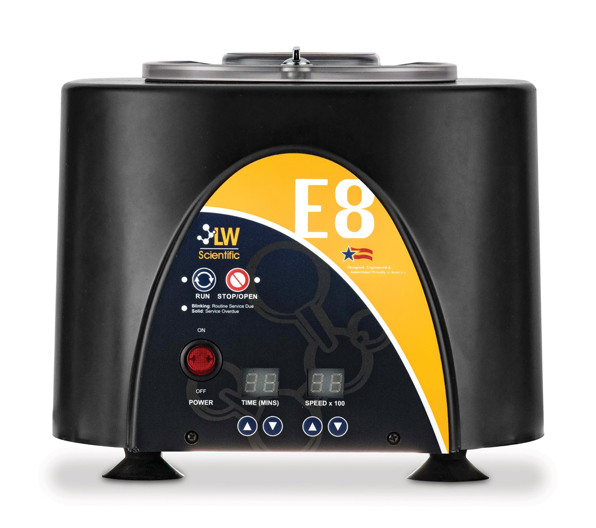 3500RPM Centrifuge with 8-place Angled Rotor - Digital