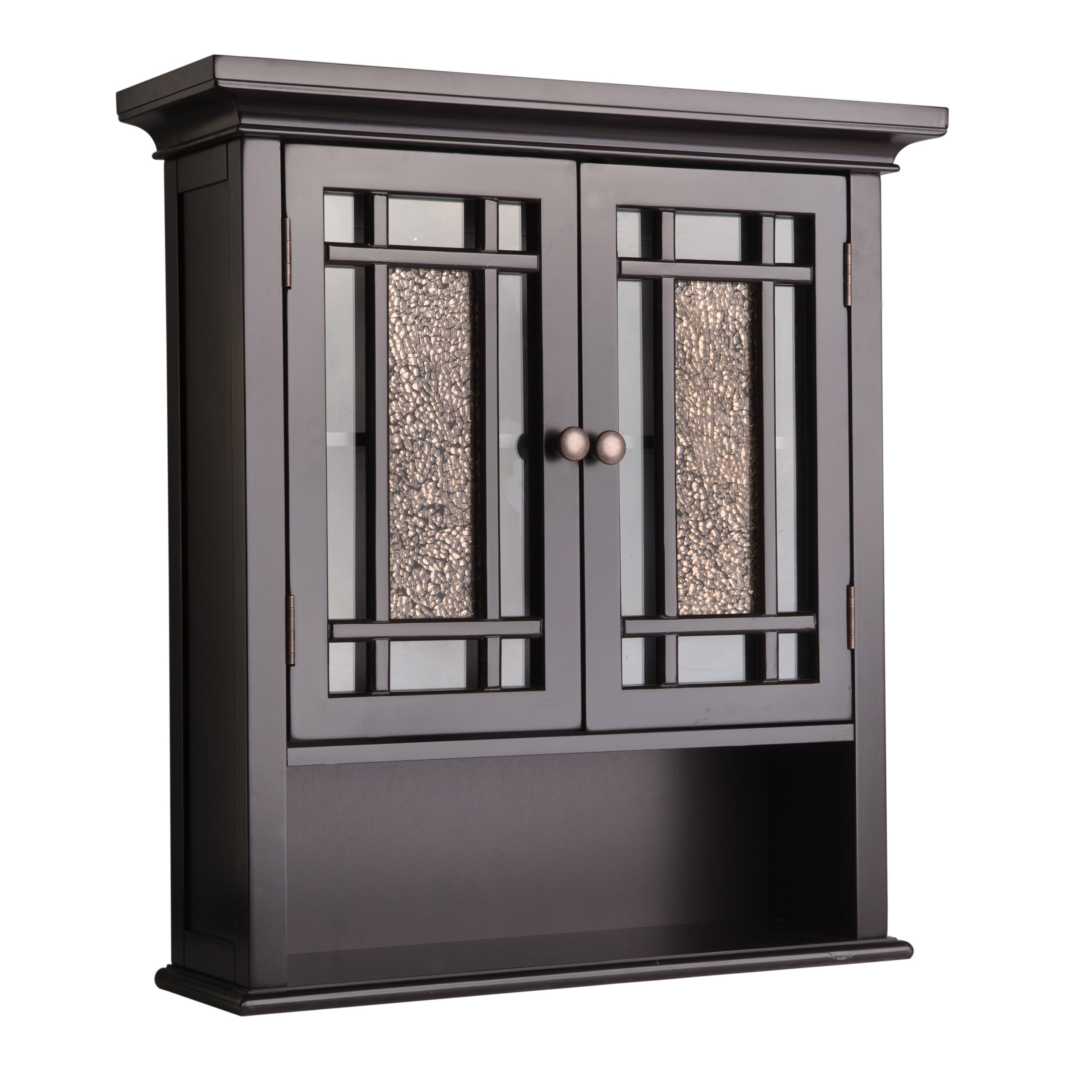 Elegant Home Fashions Whitney Wall Cabinet with 2 Doors and 1 Shelf by Elegant Home Fashions