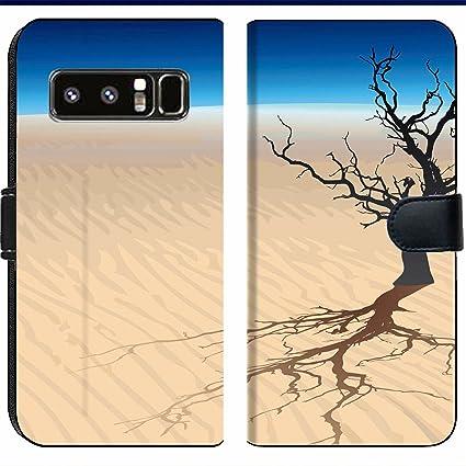 Amazon com: Samsung Galaxy Note 8 Flip Fabric Wallet Case Image ID