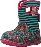 Bogs Kids' Baby Pansy Stripe Snow Boot
