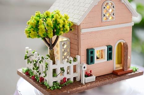 Maison de Poupées Miniature Handmade verre cannelé Bowl