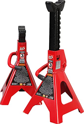 BIG RED T43202 Torin Steel Jack Stands: 6 ton