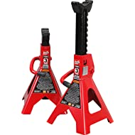 Torin Big Red Steel Jack Stands: 3 Ton Capacity, 1 Pair