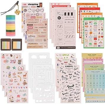 Amazon.com: SUBANG - Juego de accesorios para diario ...
