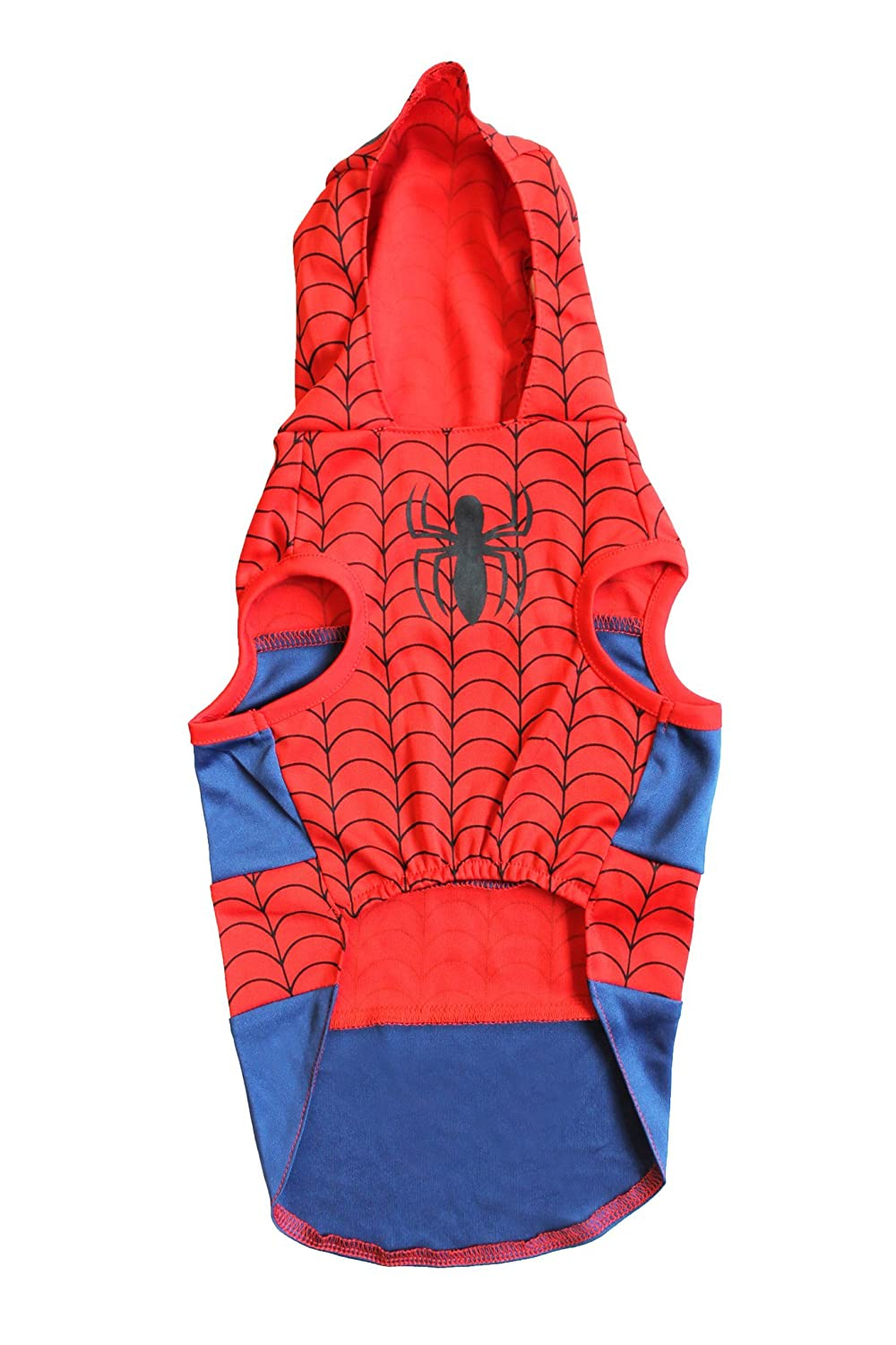 Marvel Spiderman Costume for Dogs, X-Small   Best Superhero Halloween Costume for All Small Dogs and Puppies