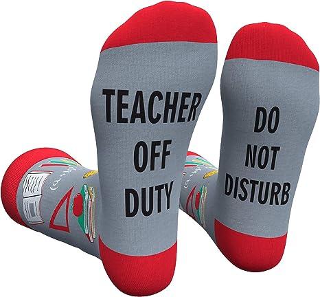 Teacher Socks with Gift Box