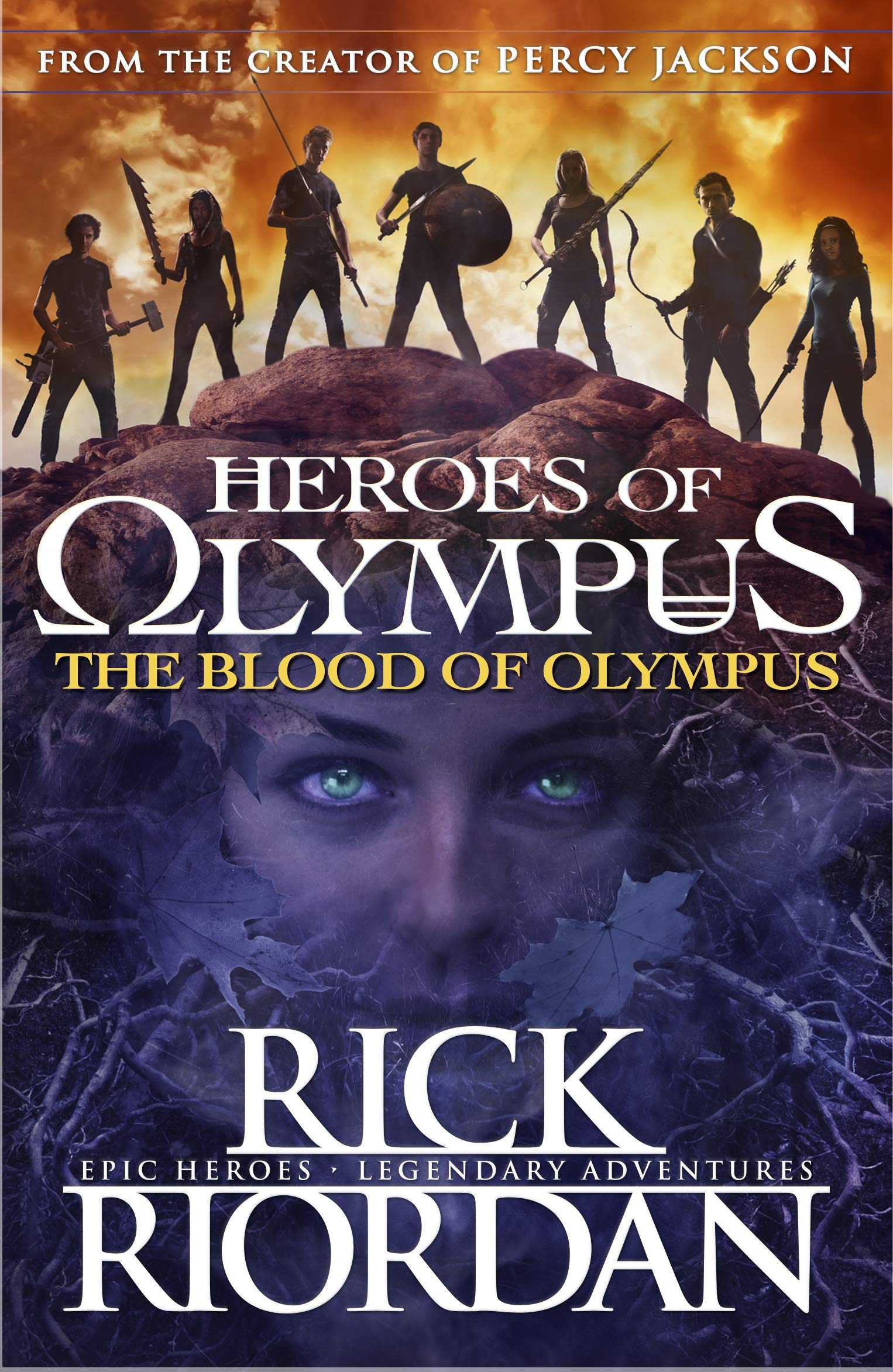 Read Online The Blood of Olympus (Heroes of Olympus Book 5) PDF