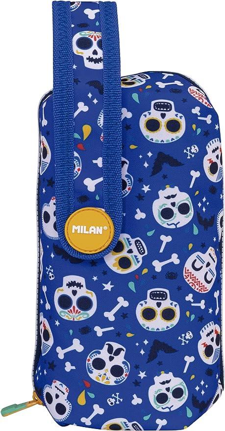 MILAN Kit 4 Estuches con Contenido Bats&Bites Azul, 22 cm, Azul: Amazon.es: Equipaje