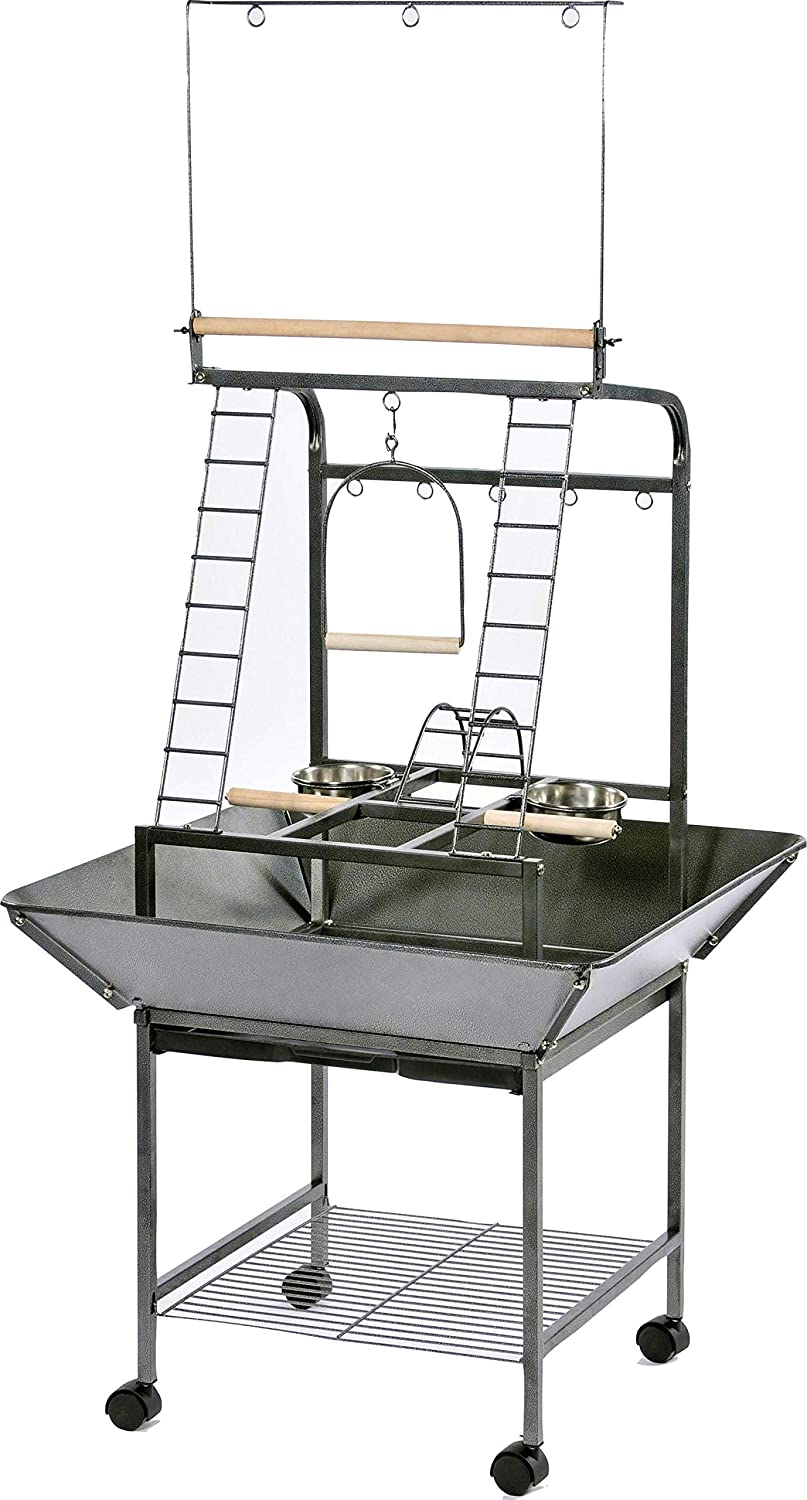 USA Wholesaler BPV3181 Wrought Iron Tiel sm Parred Playstand 18x16x59