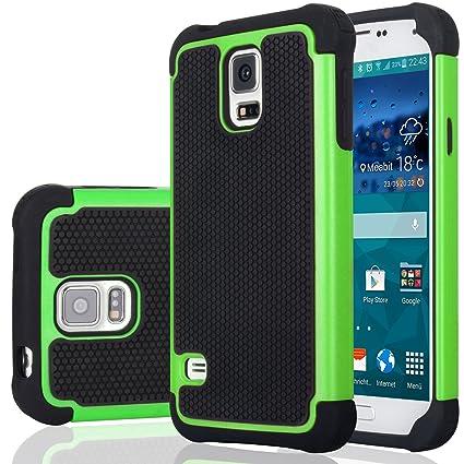 Amazon.com: Galaxy S5 Funda de plástico, jeylly (TM) [Prueba ...