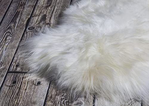 World of Leather Biggest Soft and Silky Icelandic Sheepskin Rug M 44