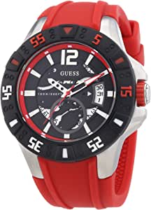 Guess W0034G1 Mens MAGNUM Black Red Watch