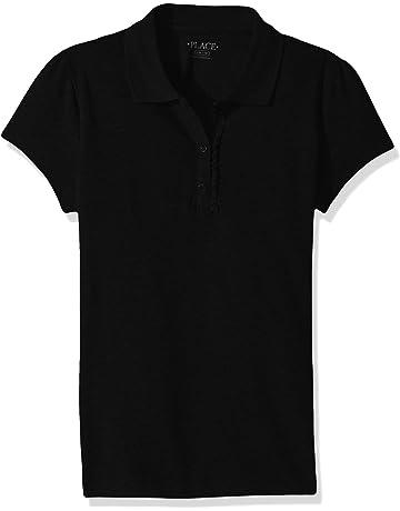 e1f9787a8 The Children s Place Girls  Uniform Short Sleeve Polo