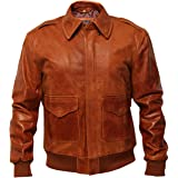 2154 HARRINGTON BLACK Men/'s Bomber Style Classic Real Lambskin Leather Jacket