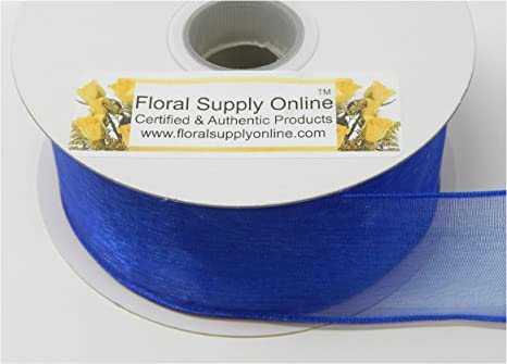 1 Yard Organza Ribbon Sheer Craft Edge Weddings Party Chiffon Wrap Accessories