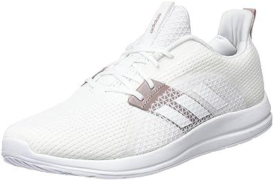 adidas Element V, Chaussures de Running Femme, Blanc Cassé (FTWR White/White Tint S18), 44 EU