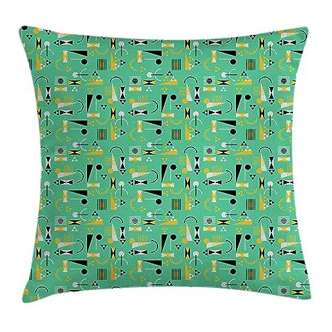Jxrodekz Funda de cojín Retro Throw Pillow, diseño ...