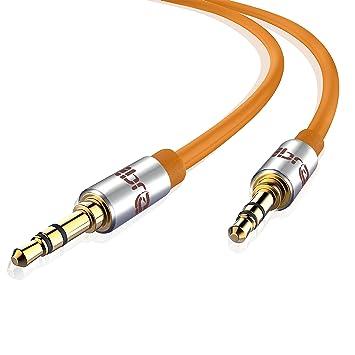7b49495c8e9 IBRA Cable de Audio Estéreo | 3,5mm Jack macho a 3,5mm macho | 1 ...