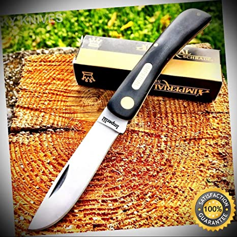 Amazon.com: Cuchillo de bolsillo para acampada y caza ...