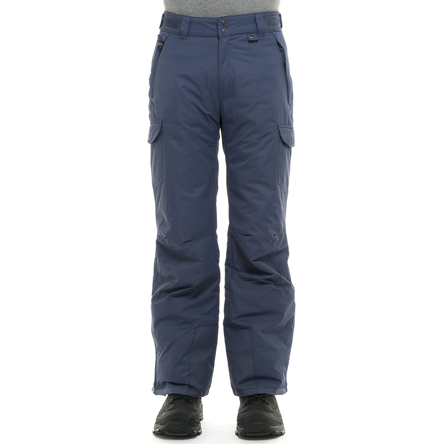 Arctix SKI Gear by Men's 1960 Snow Sports Thermatech Insulated Nylon Waterproof Pant Shady Blue