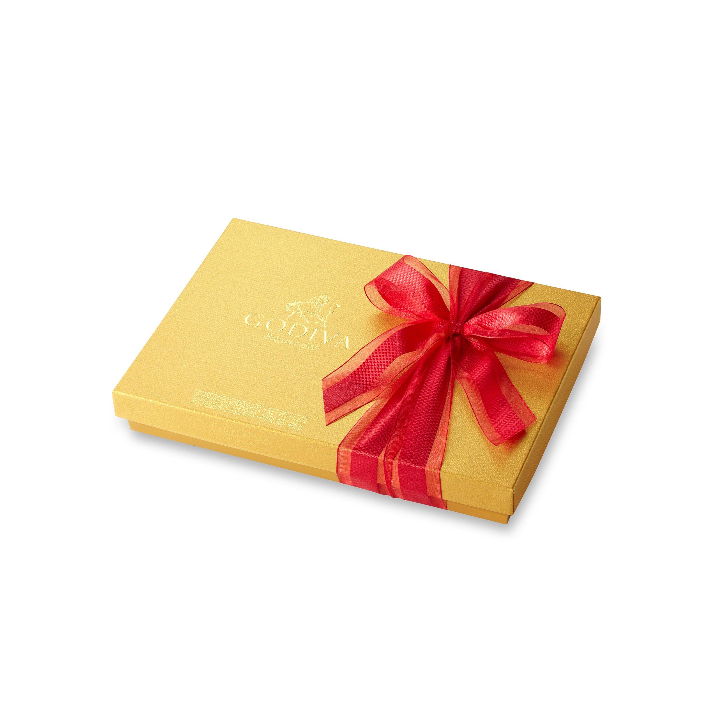 Godiva Chocolatier Gold Ballotin Assorted Gourmet Chocolates 36 Piece Gift Box, Great for Gifting by GODIVA Chocolatier (Image #2)