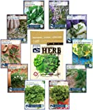 Culinary Herb Seed Collection - 100% NON-GMO, Easy-to Grow Heirloom Seeds - from a REAL Seed Company!