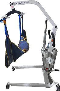 Grúa Eléctrica para pacientes E-150 con arnes flet-Unidad: Amazon ...
