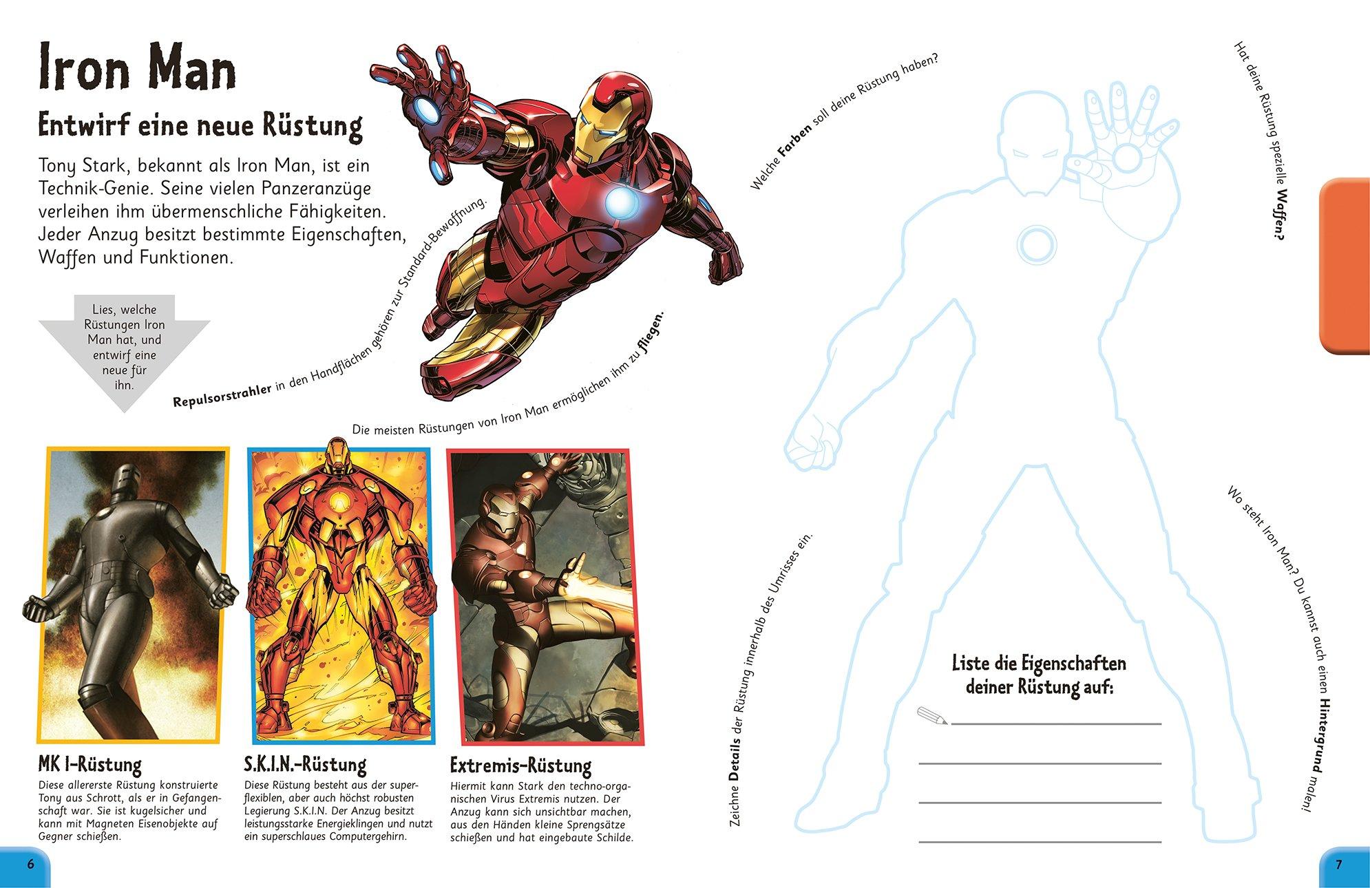 Das Mach-Malbuch Marvel Avengers: 9783831030217: Amazon.com: Books