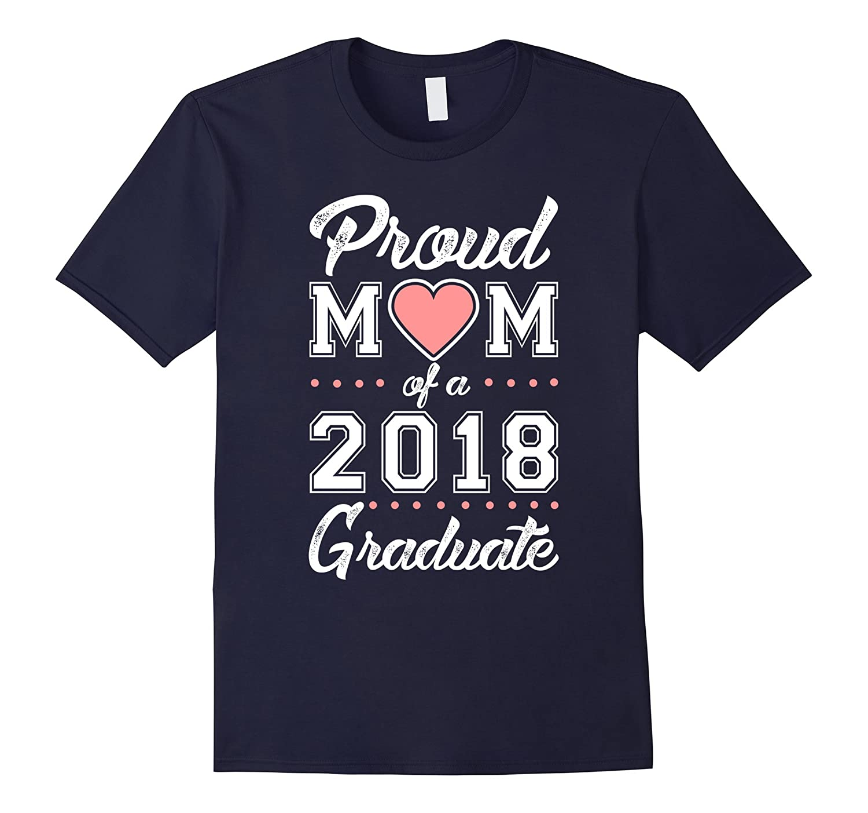 Proud 2018 Graduate T shirt Purple-Xalozy