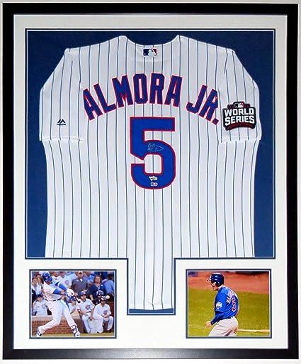 a09533fb6 Albert Almora Jr. Signed Majestic Chicago Cubs 2016 World Series Jersey -  MLB   Fanatics