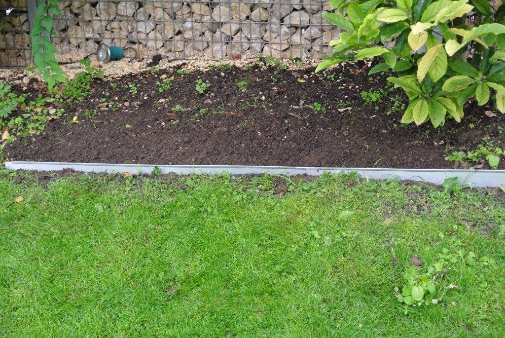 20er Set Rasenkanten 12,2x118cm, Beetumrandung Rasenbegrenzung Beeteinfassung von Gartenwelt Riegelsberger