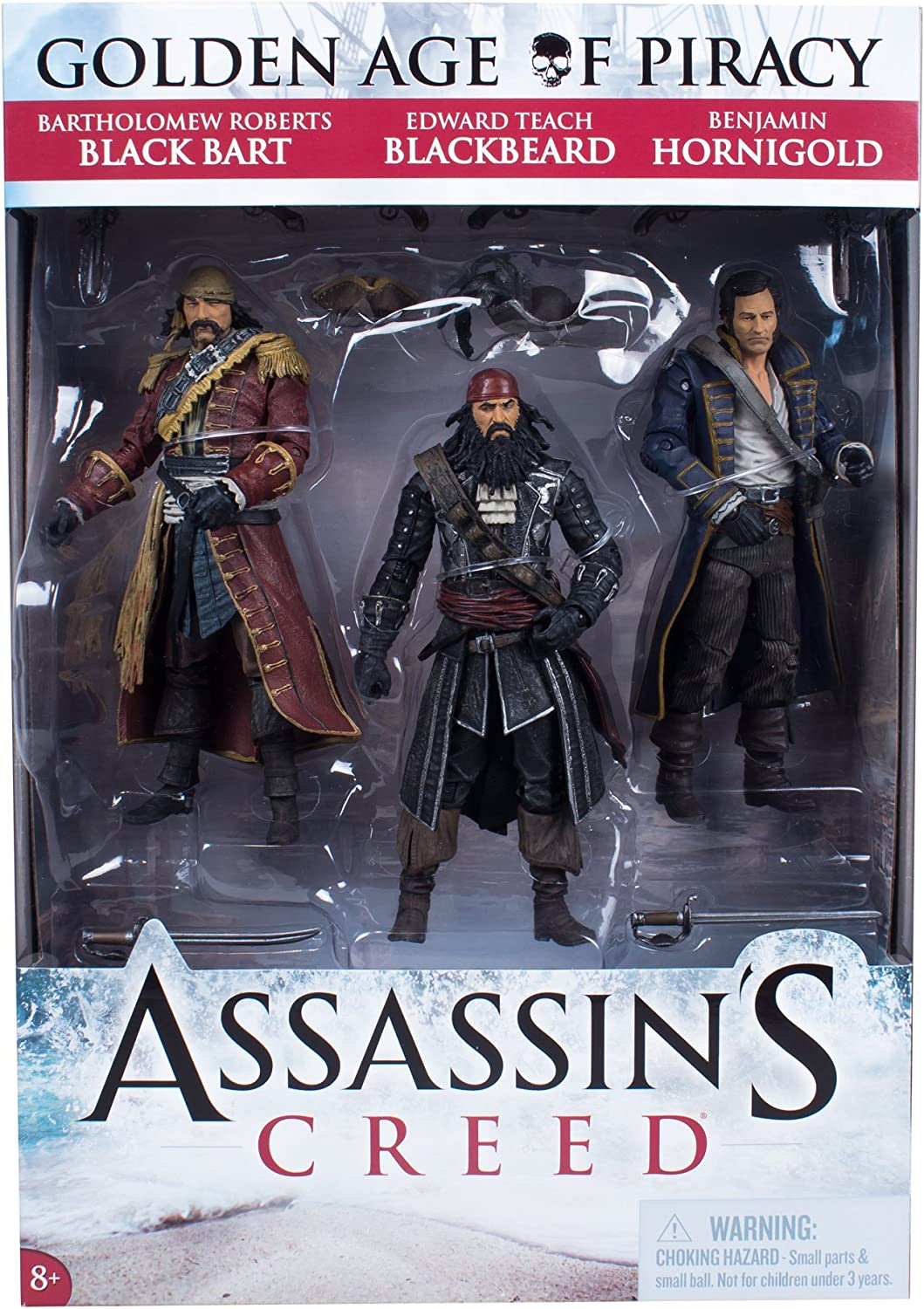 "GOLDEN AGE OF PIRACY Assassin/'s Creed 6/"" inch Figures Exclusive McFarlane 2013"