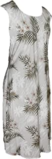 product image for Paradise Found Womens Island Breeze Short Tank Dress White M