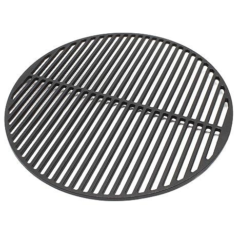 Rejilla grill parrilla redonda hierro fundido 45 cm asado ...