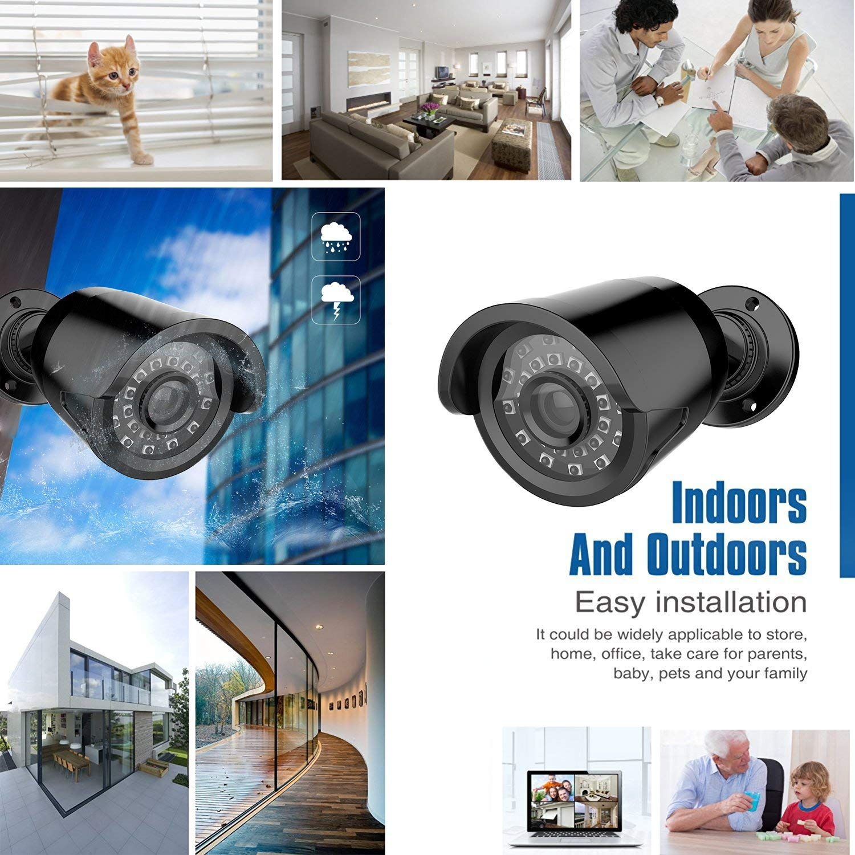 Bullet Cameras 18PCS SMD LEDs Metal Housing 864019 Rraycom