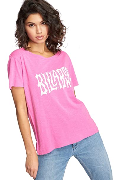21f1d617ccbf8 Amazon.com: Billabong Im A Rebel Short Sleeve T-Shirt: Clothing