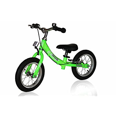 KinderBike Laufrad Run Bike - Green: Sports & Outdoors
