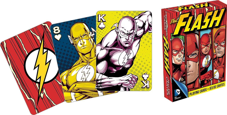 Amazon aquarius dc comics flash playing cards toys games magicingreecefo Choice Image